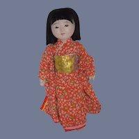 Vintage Japanese Ichimatsu Doll Original Clothes Costume