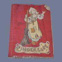 Old Dean's Rag Books Cinderella Old Cloth Book Sweet