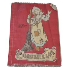 Old Dean's Rag Books Cinderella Old Cloth Book Sweet