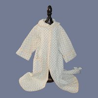 Vintage Doll Robe Saks Fifth Avenue SWEET!