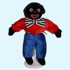 Vintage Doll MerryThought Golliwog Golly Black Cloth Doll in Original Box