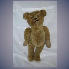 Old Teddy Bear Mohair Jointed  Sweet  Glass Eyes