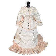 Wonderful Vintage Hand Made Fashion Doll Two Piece Top Skirt Gorgeous
