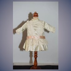 Wonderful Vintage Hand Made Doll Dress Petite Doll French Market Bernadette Blood