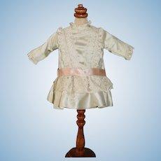 Wonderful Vintage Hand Made Doll Dress Petite Doll French Market Bernadette Blood