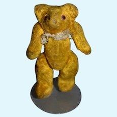 Old Miniature Teddy Bear Jointed Sweet Doll Friend