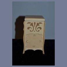 Wonderful Old Celluloid Doll Cabinet Trinket Casket Unusual Miniature