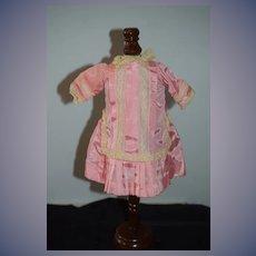 Vintage Doll Dress Drop Waist lace French Market