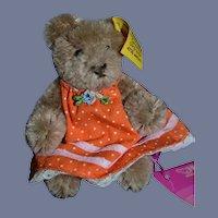 Vintage Teddy Bear Miniature Steiff Button Tag 0202/11