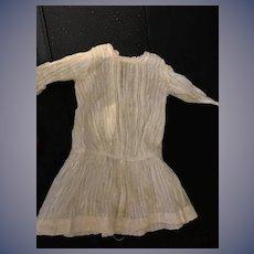 Antique Doll Dress Drop Waist Charming