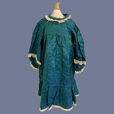 Vintage Doll Dress Lace Trim Sweet