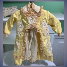 Sweet Vintage Artist Doll Dress For French Market Designs By Leslie