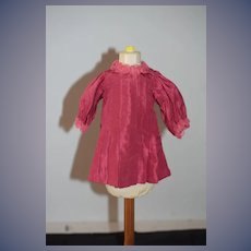 Old Doll Dress For Petite Doll Gorgeous Silk