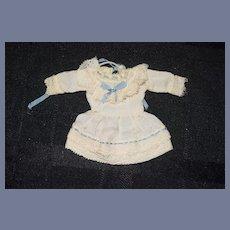 Wonderful Doll Dress Miniature Artist Made Fancy Petite Doll