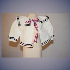 Wonderful Doll Teddy Bear Sailor Jacket Top