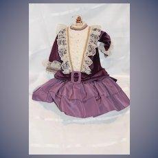 FAB Artist Doll Dress By Patty Manuel Wonderful French Market