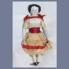 Antique Miniature China Head Doll Charming