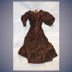 Antique Doll Dress Fashion Doll Ornate French Market