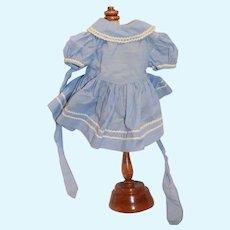 Sweet Vintage Doll Dress Adorable W/ Fancy Trim