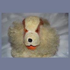 Old Wonderful Cloth Dog Mohair Dog