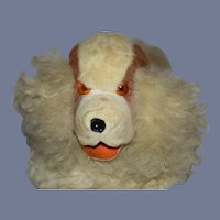 Old Wonderful Cloth Dog Mohair Dog