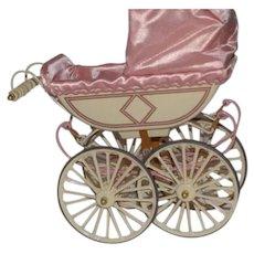 UFDC Marx Doll Pram Carriage Buggy
