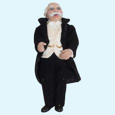 WONDERFUL Artist Doll Betsey Baker ODACA Miniature Character Dollhouse Man