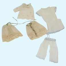 Sweet Old Doll Petite Doll Undergarments Lace Cotton Fancy