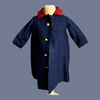 Vintage Doll Hand Made Coat Sweet
