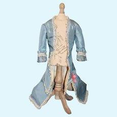Wonderful Long Coat Jacket W/ Train Gorgeous Fashion Doll