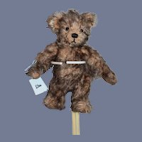 Wonderful Artist Teddy Bear Mohair Jointed Limited Edition 6/50 Goldilocks Babybar Ingrid