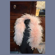 Old Doll Feather Boa Stole Gorgeous