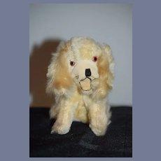 Old Sweet Miniature Dog Doll Companion Adorable