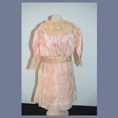 Antique Doll Dress Gorgeous Lace French Market Wonderful