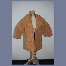 Wonderful Old Leather Doll Coat Jacket WONDERFUL