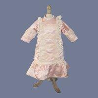 Wonderful Doll Dress French Market Fashioned By Bernadette Blood Drop Waist W/ Lace