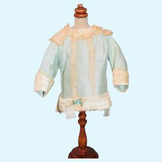 Wonderful Old Doll Top Fancy French Market Lace