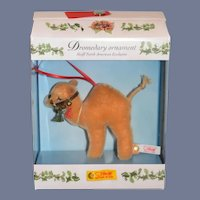 Vintage Dromedary Ornament Steiff North American Exclusive MINT IN BOX Button Tag Camel
