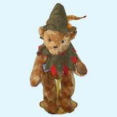 Wonderful Teddy Bear Hermann Teddy Original Jocye Ann Haughey Artist Limited Edition Robin Hood Jester