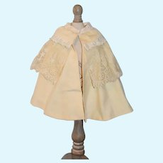 Sweet Doll Vintage Cape w/ Lace Collar