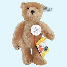 Vintage Steiff Teddy Bear EAN 0156/18 Jointed Mohair Button Tag Chest Tag
