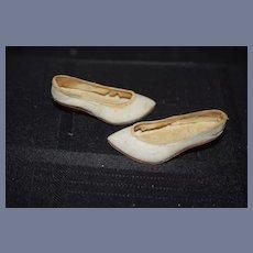 Wonderful Leather Doll Shoes w/ Wood Heels