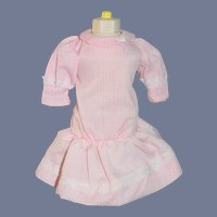 Wonderful Drop waist Doll Dress Gingham