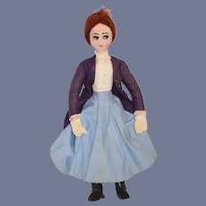 Sweet Cloth Doll Mary Poppins Sewn Features