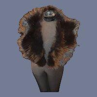 Wonderful Antique Doll Fur Stole Gorgeous