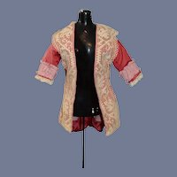 Fancy Vintage Doll Coat W/ Tail Lace French Market Jacket