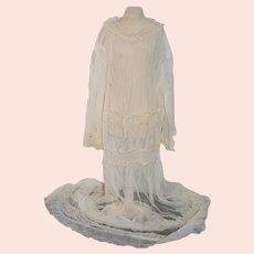 Antique Lace Dress Child Gorgeous Fancy