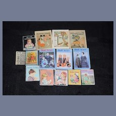 Miniature Book Lot for Dollhouse Doll Huge Lot
