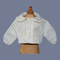 Sweet Doll Top Lace Collar Button Up Blouse