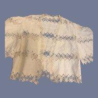 Wonderful Doll Lace Jacket Fancy Outer Garment